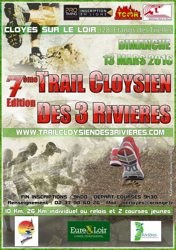 13-03-2016 – Trail Cloysien des 3 rivières