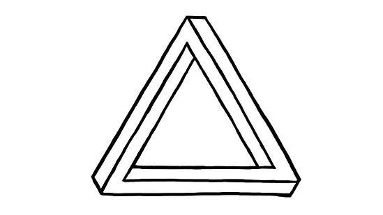 Séance en triangle