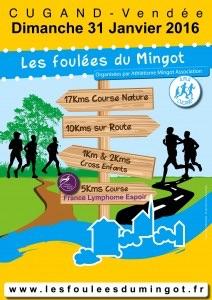 31-01-2016 – Les foulées du Mingot (85)