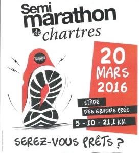 20-03-2016 – Semi marathon de Chartres