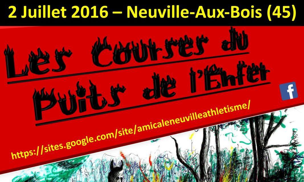 02-07-2016 : Courses du Puits de l'Enfer (Neuville aux Bois)