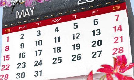 Programme du mois de mai