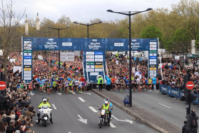 9-04-2016 – Semi marathon de Bordeaux