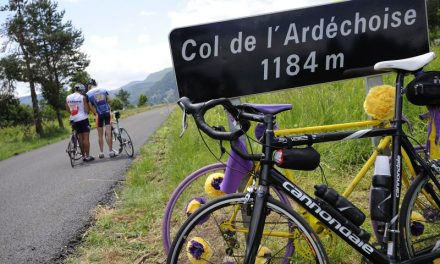 18-06-2016 : L'Ardéchoise, course cycliste pour Alex