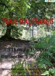 Trail d'Auffargis (Rambouillet) – 5 mars 2017