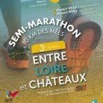 Semi-marathon «Entre Loire et Châteaux» – 4 mars 2018