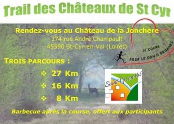 3/06/18 – Trail des châteaux de St Cyr en Val