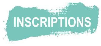 INSCRIPTION SAISON 2018-2019
