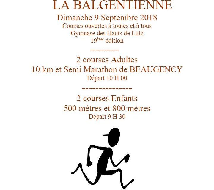 La balgentienne – 09/09/2018