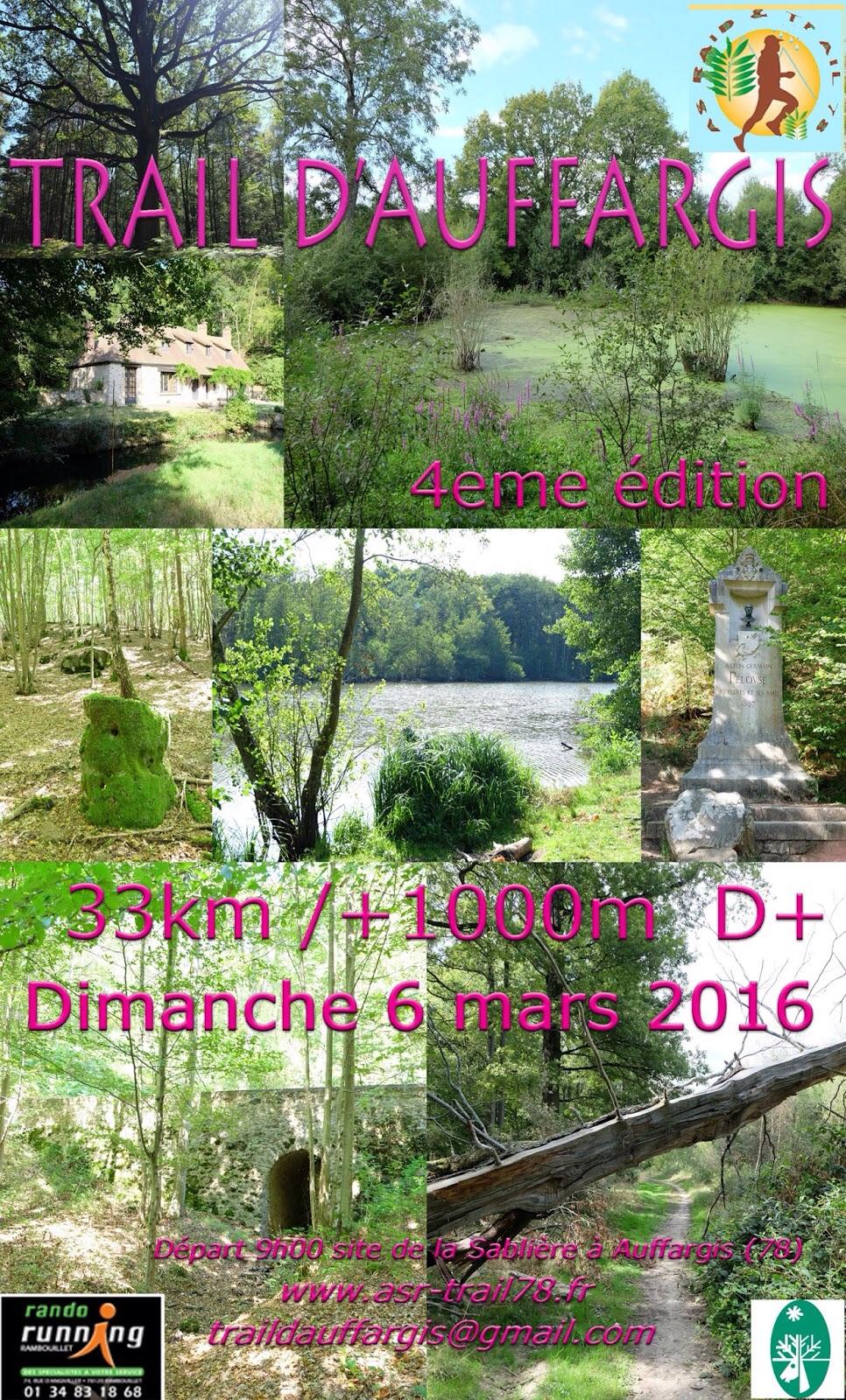 6-03-2016 – Trail d'Auffargis (78)