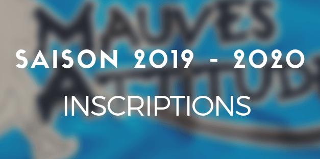 INSCRIPTIONS 2019 – 2020