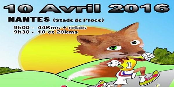 10-04-2016 – 14ème Edition du SUPER TRAIL NANTAIS