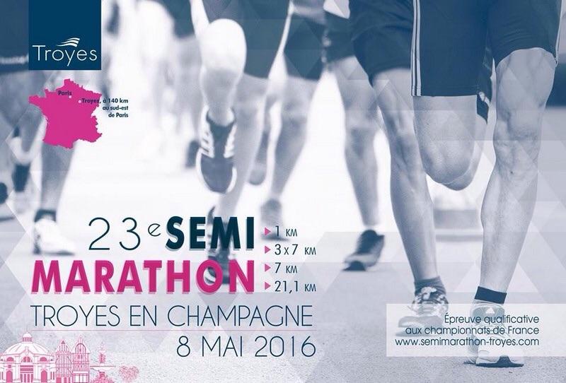8-05-2016 – Semi marathon de Troyes