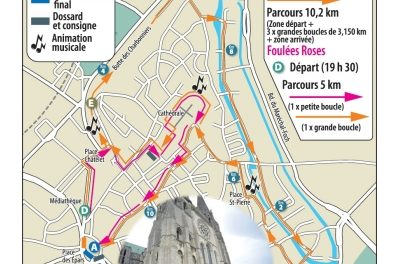 Les Foulees de la cathédrale (28 – Chartres) 25-06-16