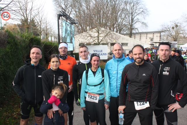 27-11-2016 : Trail Urbain d'Orléans
