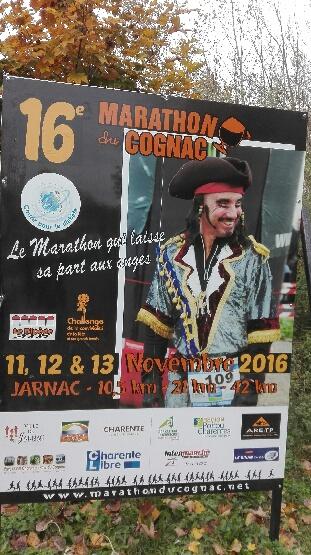 13-11-2016 – Semi marathon de Cognac