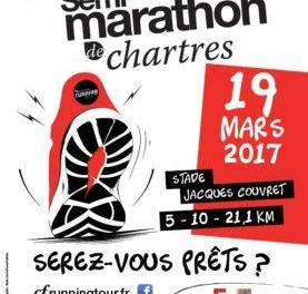 20ème semi marathon de Chartres – 19/03/2017