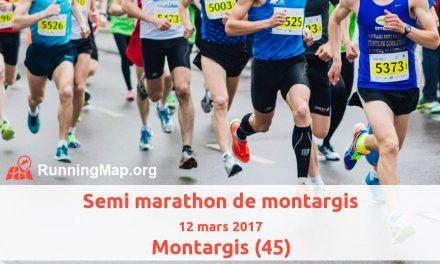 Semi-marathon de Montargis (45) – 12/03/2017