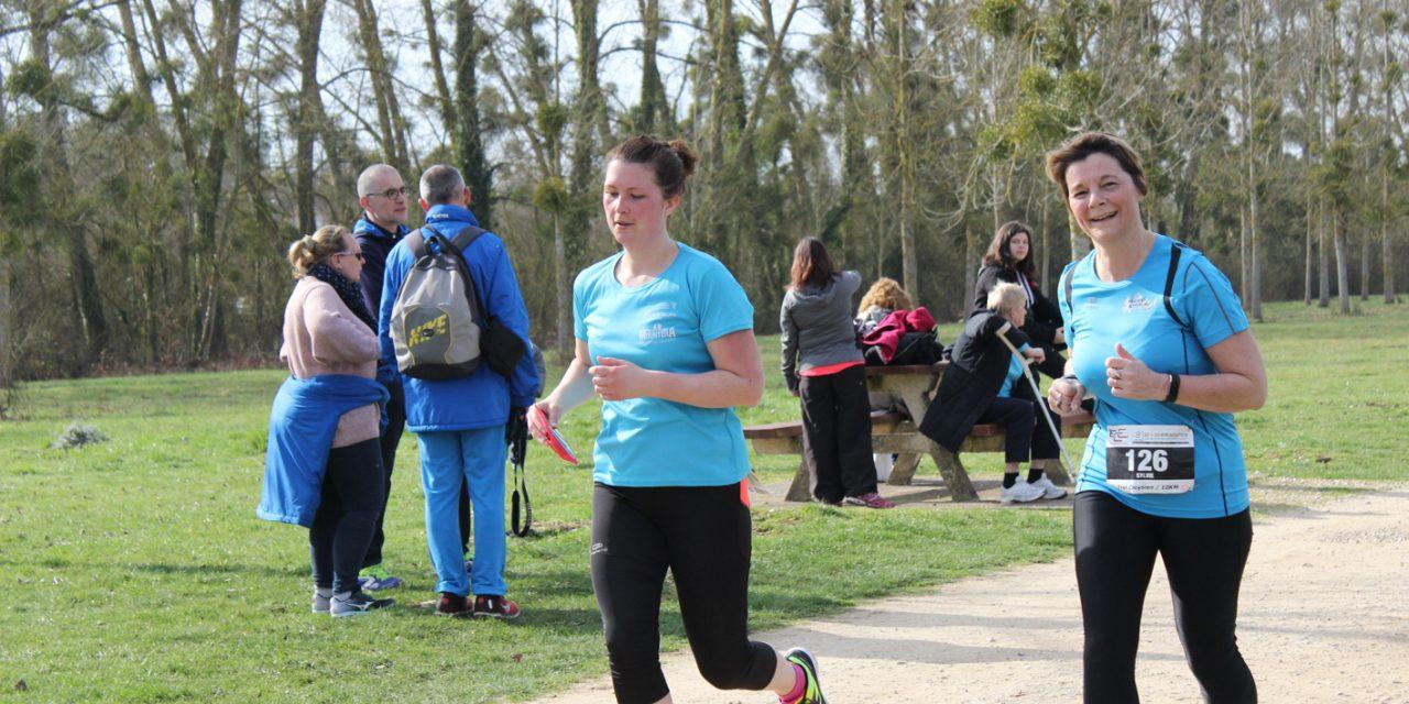 12-03-2017 : Des podiums sur le Trail Cloysien des 3 rivières