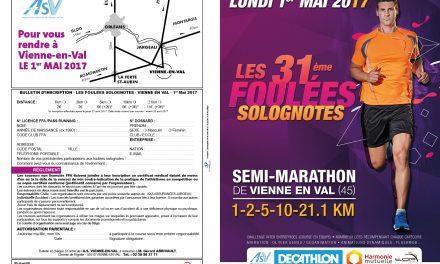 1/05/2017 – 31eme foulées solognotes de Vienne en Val