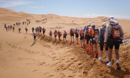 Philippe réalise le Marathon des Sables !