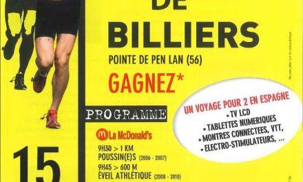 15-08-2017 – 30eme Foulees de Billiers