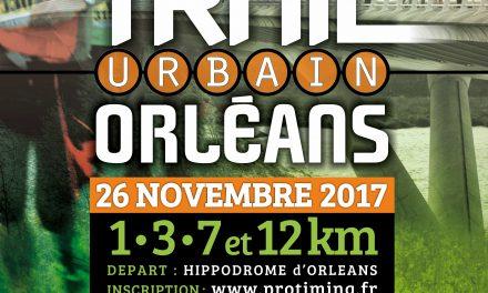 Trail urbain d'Orleans – 26/11/2017