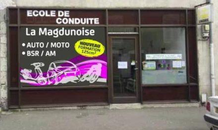 Sponsor : l'auto école magdunoise