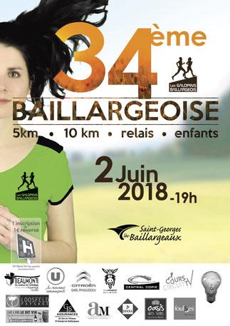 2/06/2018 – 10km de la Baillargeoise