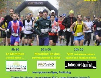 Marathon Orléans Sologne