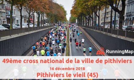 Cross de Pithiviers – 16/12/2018
