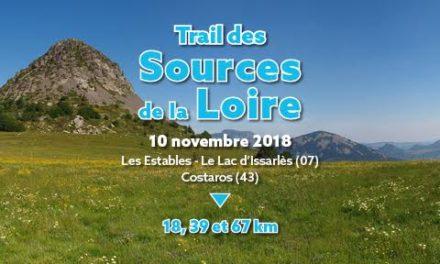 11/11/2018 – trail de la source de la Loire