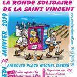 La ronde solidaire de la Saint Vincent – Amboise 16/01/2019