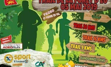5-05-2019 – trail de la forêt d'Eu