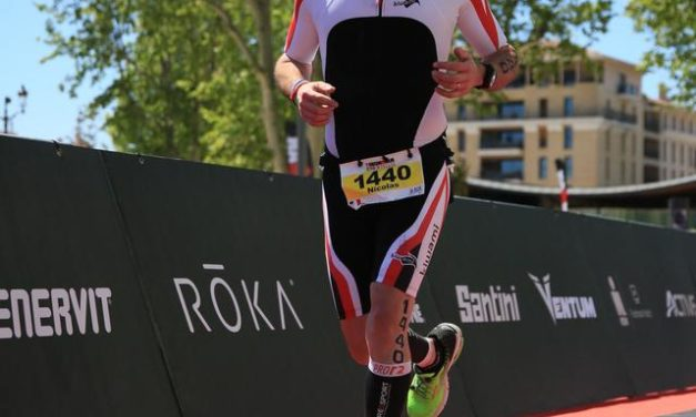 Nicolas en mode triathlon